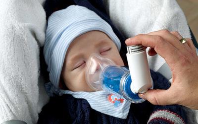 Inhalierhilfe für Kinder und Babies