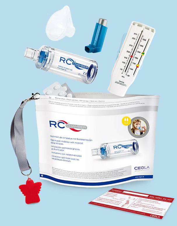 Inhalierhilfe RC-Chamber